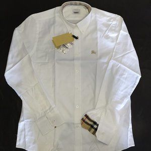 BURBERRY LONDON MEN SHIRT NEW WITH TAGS SIZE XXL
